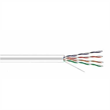 Кабель UTP data cable 4PR 24AWG CAT 5E version STANDART Plexus (Тип А)